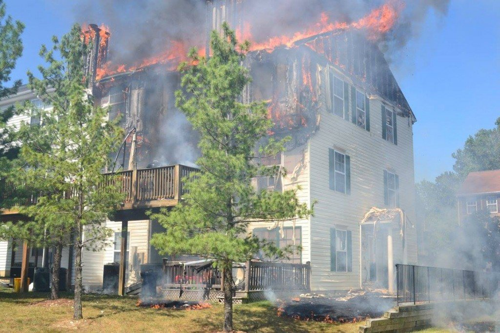 29's First Due House Fire – Apple Orchid Ln